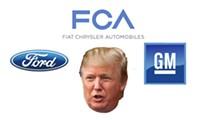 Trump meets with Big Three execs to slam EPA