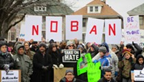 Thousands gather across Michigan to protest Trump's immigration ban