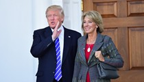 Panel OKs education secretary nominee Betsy DeVos for Senate vote