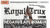 Royal Trux and Negative Approach at El Club tomorrow, Saturday, May 13