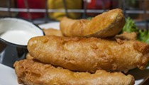 Sidetrack shows us how to make the perfect fried pickles