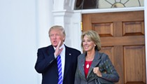 Surprise! Betsy DeVos has been hiding in her mansion, not doing shit for K-12 schools