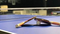 Frontline workers can play free table tennis at Pong Detroit this month