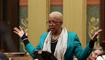 Michigan Republicans came down harder on Detroit lawmaker for making 'threats' than they have on Trump
