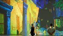 The first of two immersive van Gogh events kicks off at Detroit's TCF Center