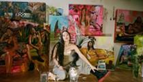 Detroit painter Gisela McDaniel creates art with big messages