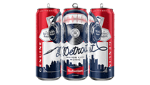 Budweiser launches limited edition tallboys infused with the 'sounds of Detroit'