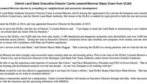 Head of Detroit Land Bank stepping down