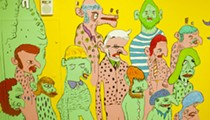 Check out Jimbo Easter's weird and amazing new Bon Bon Bon mural