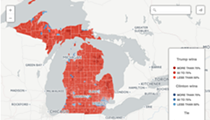 New interactive map shows just how politically divided Michigan really is