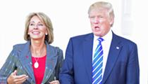 Betsy DeVos defends Trump's plan to slash education spending by 14 percent