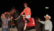 Jockey Melissa Zajac makes horse-racing history at Hazel Park
