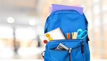 Kids can pick up free backpacks and books at The Wright tomorrow
