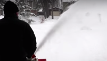 A Michigan man is on a mission to get rid of all this 'bitch-ass snow'