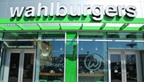 The downriver Wahlburgers will open in March, or so they say