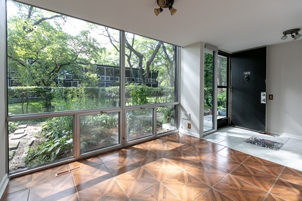 This Mies Van Der Rohe Designed Townhouse Is On The Market