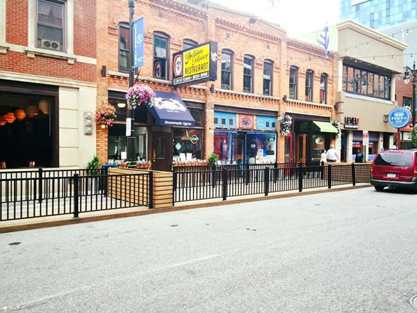 greektown at sundown closes monroe for summer foodie series table and bar. Black Bedroom Furniture Sets. Home Design Ideas