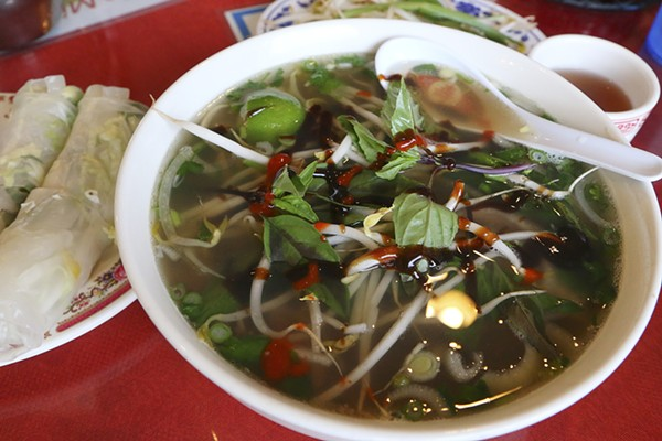 Vietnamese with a chinese twist food drink detroit for Asian cuisine and pho