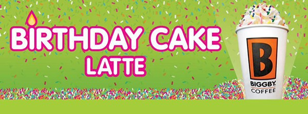 Biggby Birthday Cake