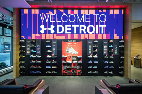 Clothing stores downtown detroit