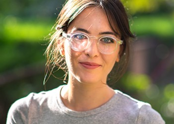 Ali Rose VanOverbeke's Genusee Eyewear turns Flint's used water bottles into glasses