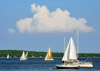 The Traverse City area abounds with plenty for pleasure-seekers