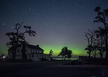 Northern Michigan saw the aurora borealis last night, viewings possible tonight