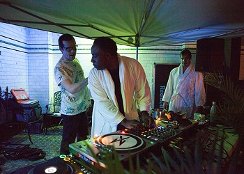 How Detroit's  Schvitz bathhouse is using electronic music to heal
