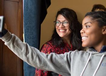 Photo-essay: Rashida Tlaib goes to Washington