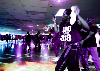 How adult nights at Detroit's roller rinks are keeping Black skating  culture alive