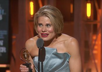 Actress Celia Keenan-Bolger shares Detroit roots in Tony Award acceptance speech