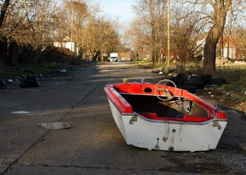 An interview with the creator of the 'Detroit Land Boats' Tumblr