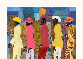 In honor of Father's Day, an artist salutes African-American men