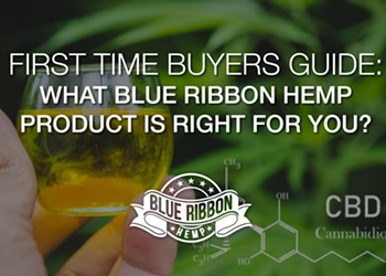 First Time CBD Buyers Guide: What Blue Ribbon Hemp Product Is Right For You?