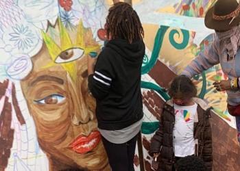Artist Dana Selah Elam honored with mural