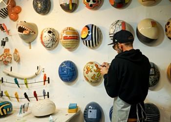 Detroit artist Iggy Sumnik earns a reputation for his ceramic 'Jellybeans'