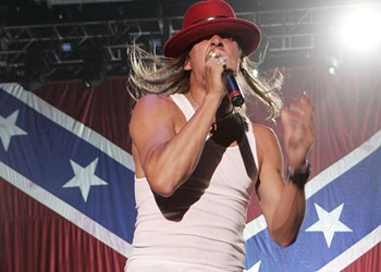 Kid Rock and the Confederate flag: a history