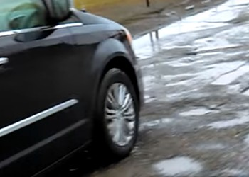 Mound Road has more craters than the surface of the moon as evidenced by this YouTube video