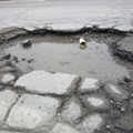 In search of Detroit's worst potholes