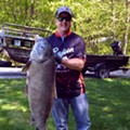 Muskegon man shatters state record for his 47-pound fish