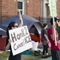 'Occupy ICE' protesters attempt to shut down Detroit office