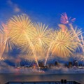 Nothing major went down at last night's fireworks show