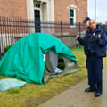 Homeland Security dismantles 'Occupy ICE' encampment in Detroit
