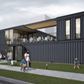 Shipping Container food hall opens in Cass Corridor on Friday