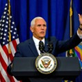 Pence returns to rally in Michigan next week, steering clear of Detroit