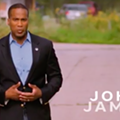 Reminder: Black Republican John James took white supremacist campaign cash