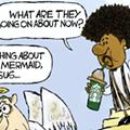 Comics: Fish girl fury