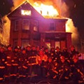 Burning home used as backdrop for Detroit firefighters' photo was not abandoned