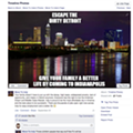 Update: Indianapolis real estate agent says he's not behind 'escape the dirty Detroit' campaign