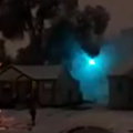 Watch: Snowfall starts power line fire in Detroit